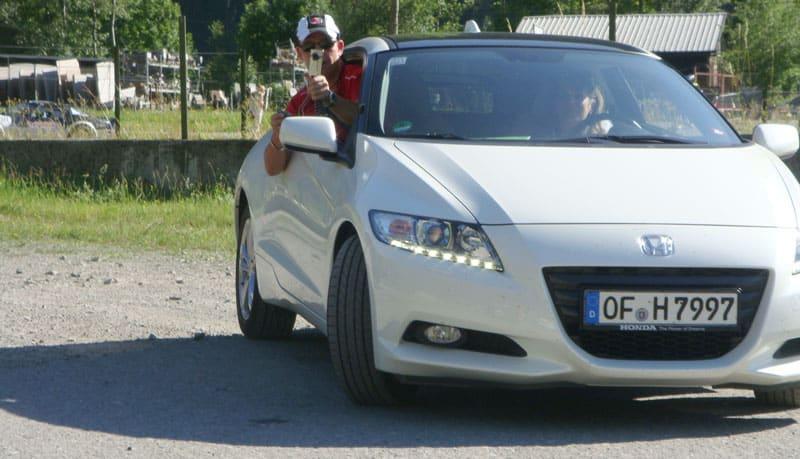 Türchen 16 - Probefahrt Honda CR-Z, gleich zwei Videos 1