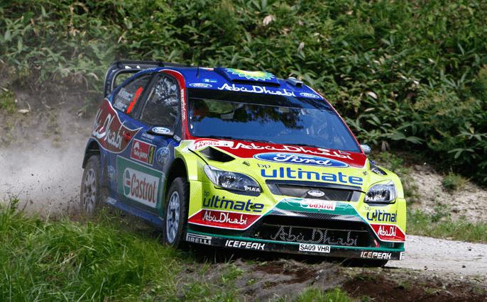 Rally-Driver Mikko im Interview / Paris Motor Show 2010 9