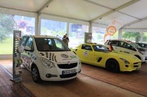 Heiter bis wolkig auf der Silvretta E-Auto Rallye, Tag 1 2