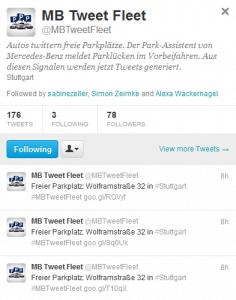 B-Klasse twittert freie Parkplätze in Stuttgart - Hintergrund + mehr Info 4