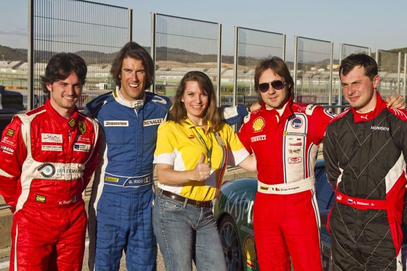 Racing mit Kaspersky Ferrari - schnell und sicher will gekonnt sein 1