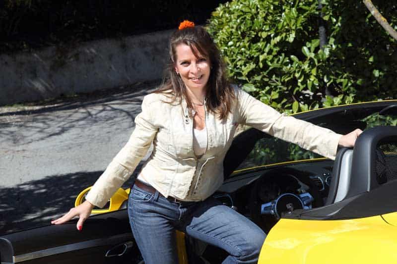 Auto-Diva mit Porsche Boxster S