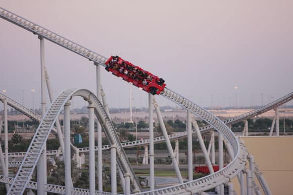 Ferrari World in Abu Dhabi 9
