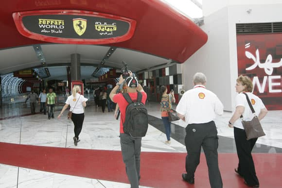 Ferrari World in Abu Dhabi 2