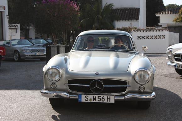 Ein Wagen, der mich sprachlos macht: Mercedes 300 SL Flügeltürer 6