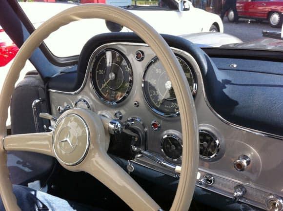 Ein Wagen, der mich sprachlos macht: Mercedes 300 SL Flügeltürer 11