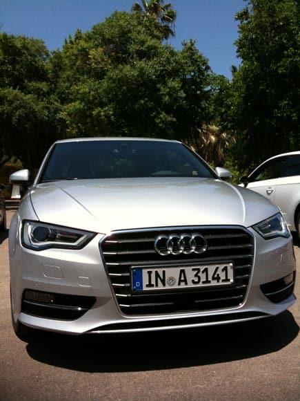 Audi A3 - es ging rund mit den 4 Ringen 6