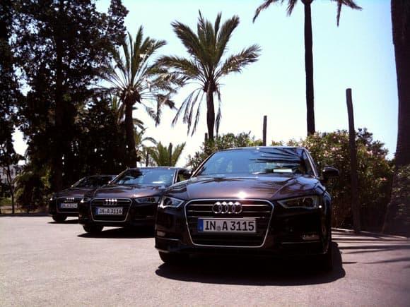 Audi A3 - es ging rund mit den 4 Ringen 5