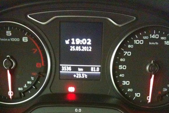 Audi A3 - es ging rund mit den 4 Ringen 7