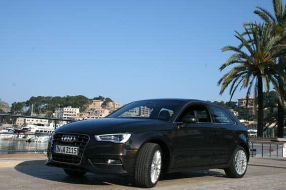 Audi A3 - es ging rund mit den 4 Ringen 1