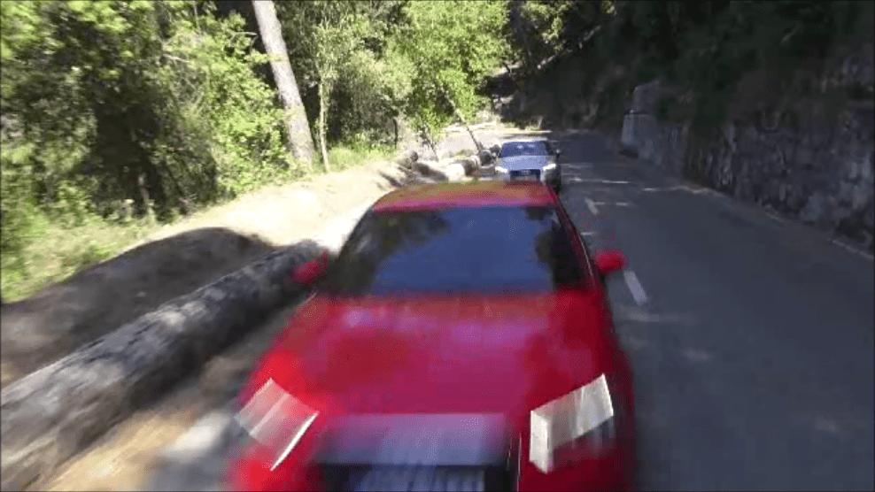 Audi A3 zeigt sich dynamisch, im Video mit Drohne 2