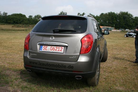 """Nix """"Ende Gelände"""", Geländewagen gehören Off-Road! 9"""