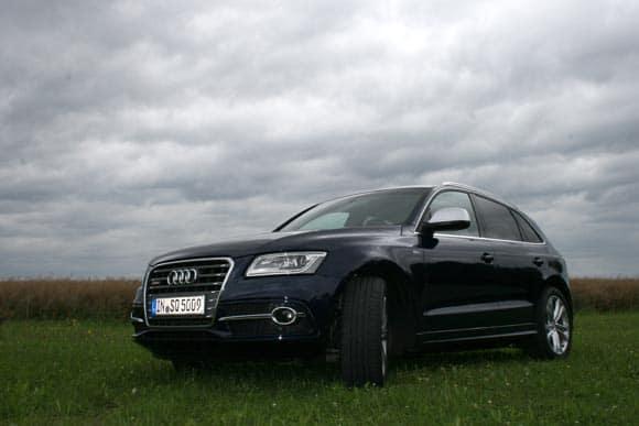 Audi Q5, wie versprochen probegefahren: in S und in Hybrid 2