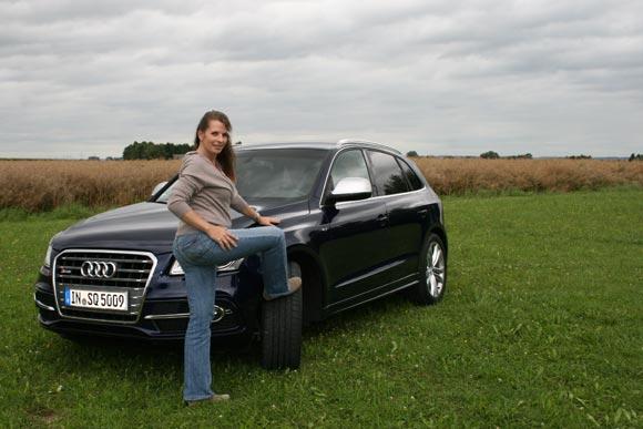 Audi Q5, wie versprochen probegefahren: in S und in Hybrid 9