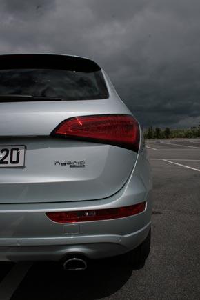 Audi Q5, wie versprochen probegefahren: in S und in Hybrid 3