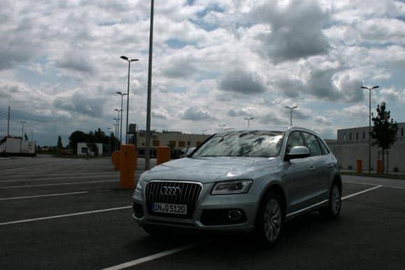 Audi Q5, wie versprochen probegefahren: in S und in Hybrid 5