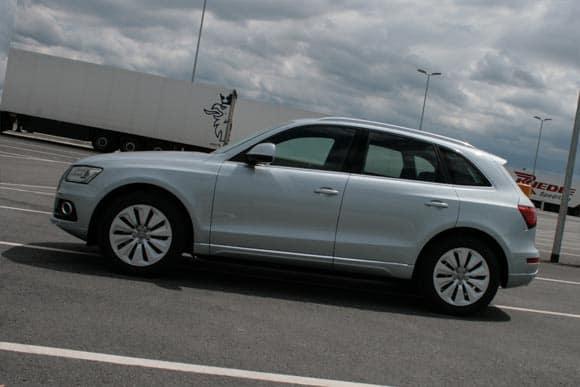 Audi Q5, wie versprochen probegefahren: in S und in Hybrid 6