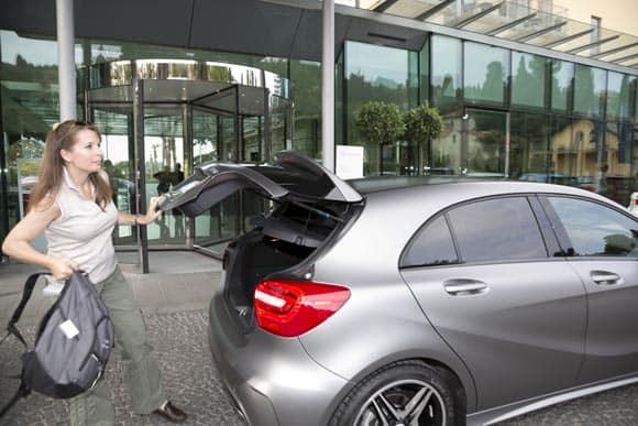 Mercedes-Benz A-Klasse: Navi spinnt und man fühlt sich trotzdem sicher 7