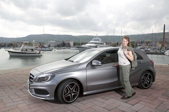 Mercedes-Benz A-Klasse: Navi spinnt und man fühlt sich trotzdem sicher 4