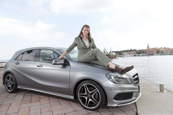 Mercedes-Benz A-Klasse: Navi spinnt und man fühlt sich trotzdem sicher 6