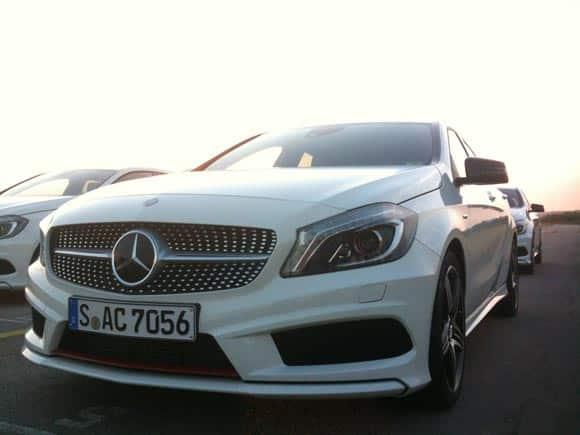 Mercedes-Benz A-Klasse: der gute Tag 5