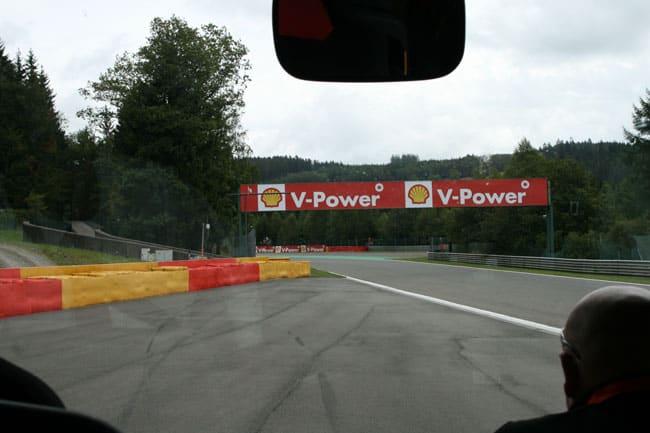 Rennkurs Spa - Streckenbegehung vor der Formel 1 3