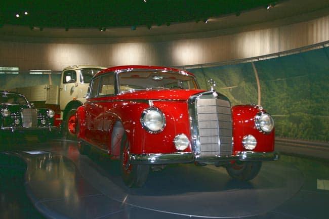 Ein Museum im Bloglight - das von Mercedes-Benz 6