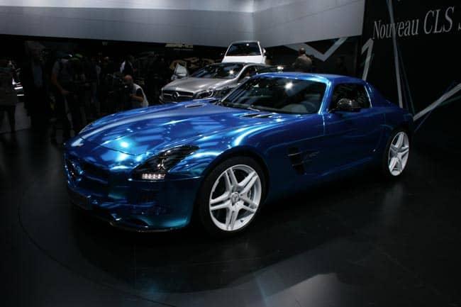 Der blaue Elektro-Blitz mit Stern - SLS AMG Coupé Electric Drive geht in Serie 2