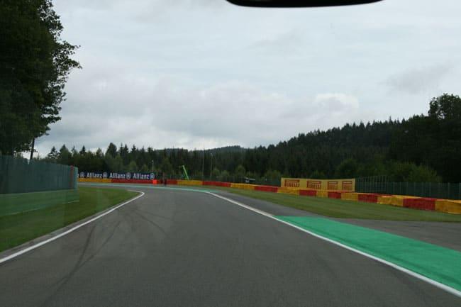 Rennkurs Spa - Streckenbegehung vor der Formel 1 4