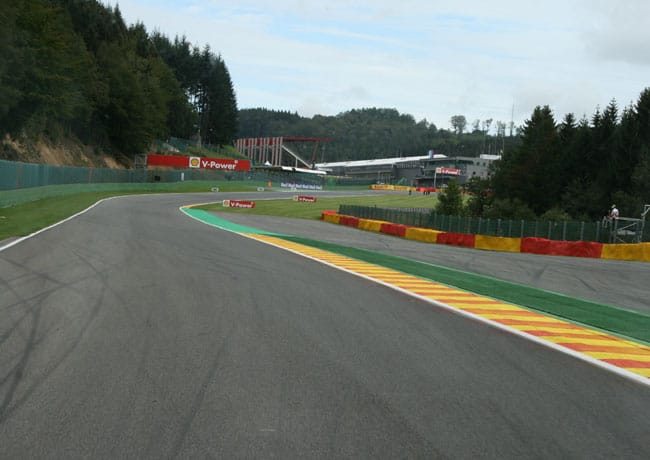 Rennkurs Spa - Streckenbegehung vor der Formel 1 5