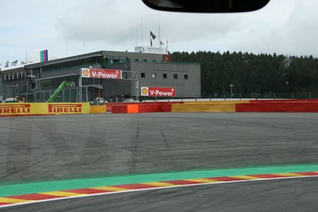 Rennkurs Spa - Streckenbegehung vor der Formel 1 7