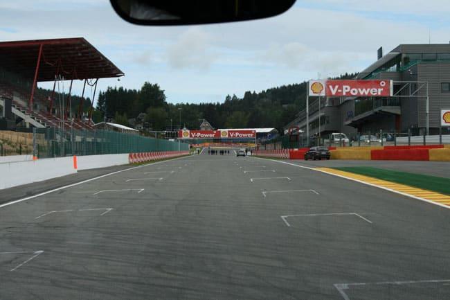 Rennkurs Spa - Streckenbegehung vor der Formel 1 8