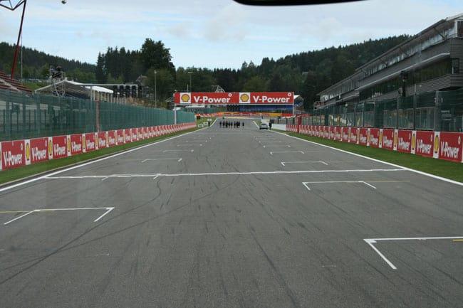 Rennkurs Spa - Streckenbegehung vor der Formel 1 9