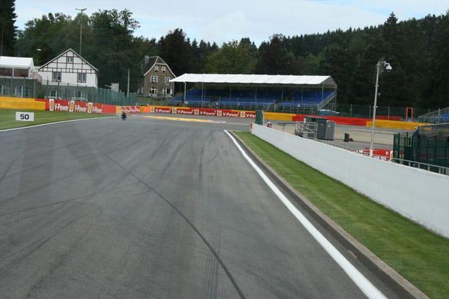 Rennkurs Spa - Streckenbegehung vor der Formel 1 10