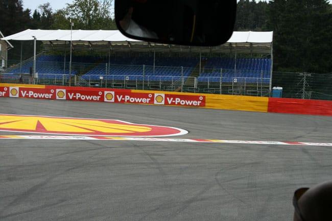 Rennkurs Spa - Streckenbegehung vor der Formel 1 11