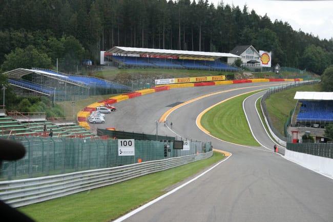 Rennkurs Spa - Streckenbegehung vor der Formel 1 14