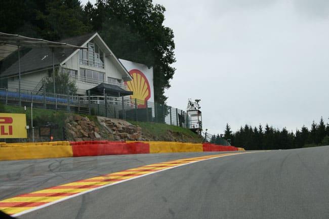 Rennkurs Spa - Streckenbegehung vor der Formel 1 15