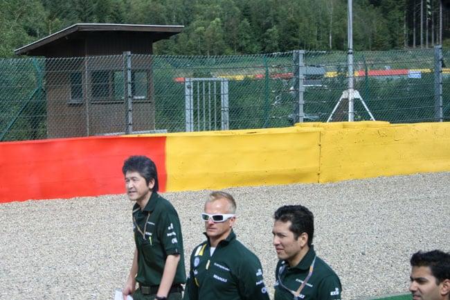 Rennkurs Spa - Streckenbegehung vor der Formel 1 17