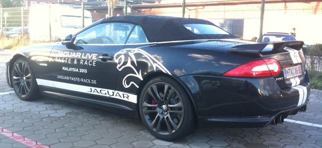 Spaß bei Taste & Race von Jaguar 7