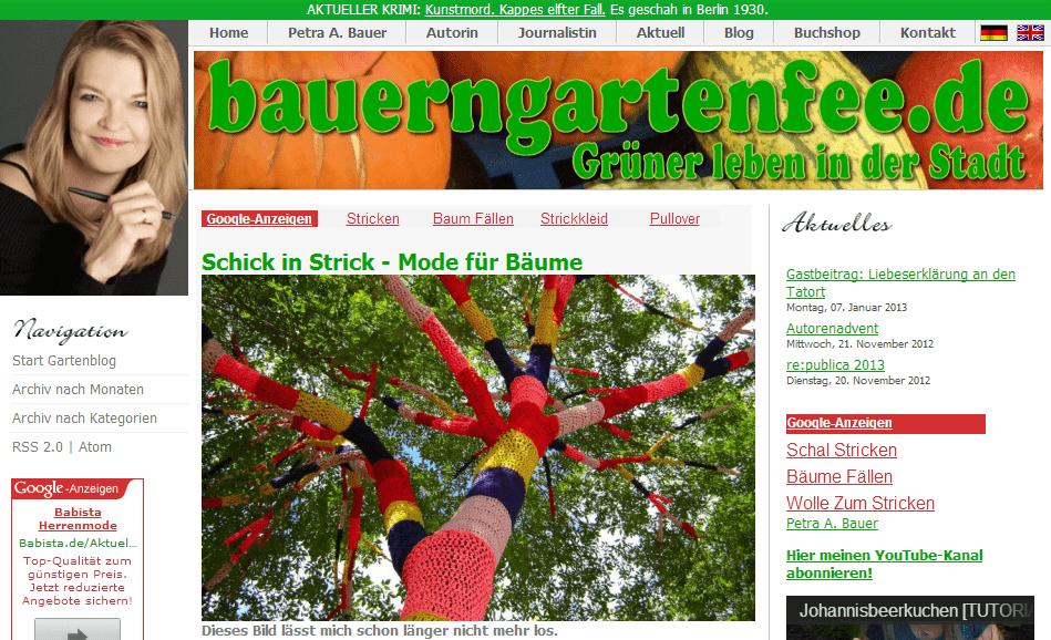 Guerilla Gardening Bauerngartenfee
