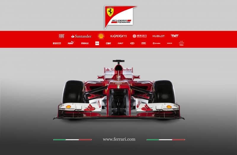 Scuderia Ferrari zeigt den F138 Rennflitzer für die Formel 1 1