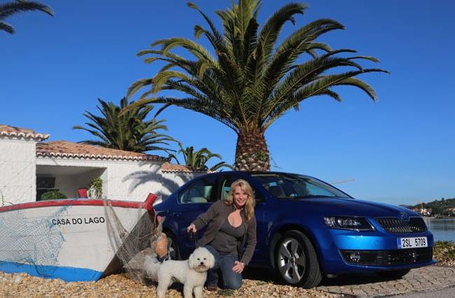 Mein Boot, mein Hund, mein Skoda Octavia 5