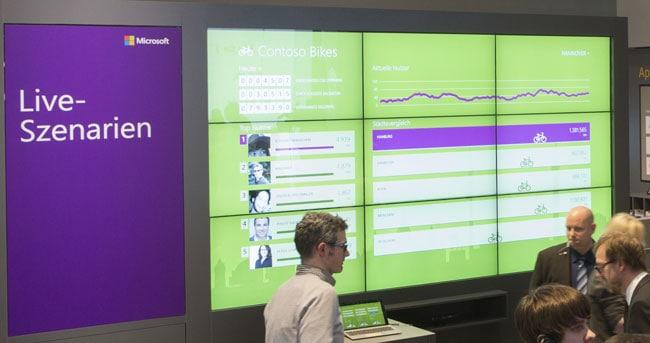 Microsoft auf der CeBIT 2013, Showcase NFC