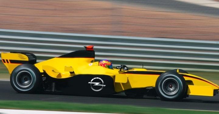 Opel startet in der Formel 1 durch 3