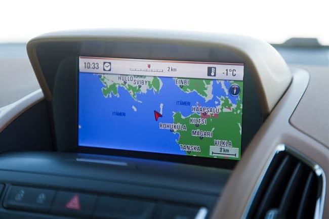 Navi Opel Ampera Ice Road Drive