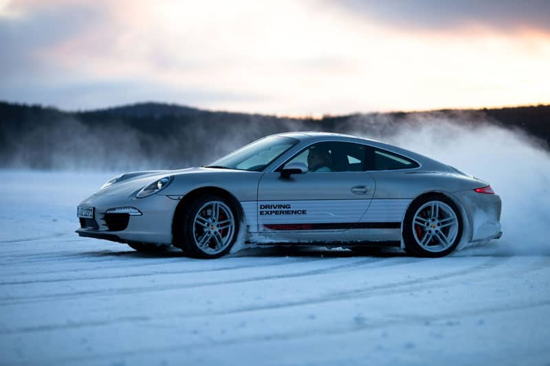 Porsche Driving Experience in Ivalo