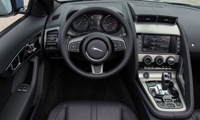 Interieur Jaguar F-Type