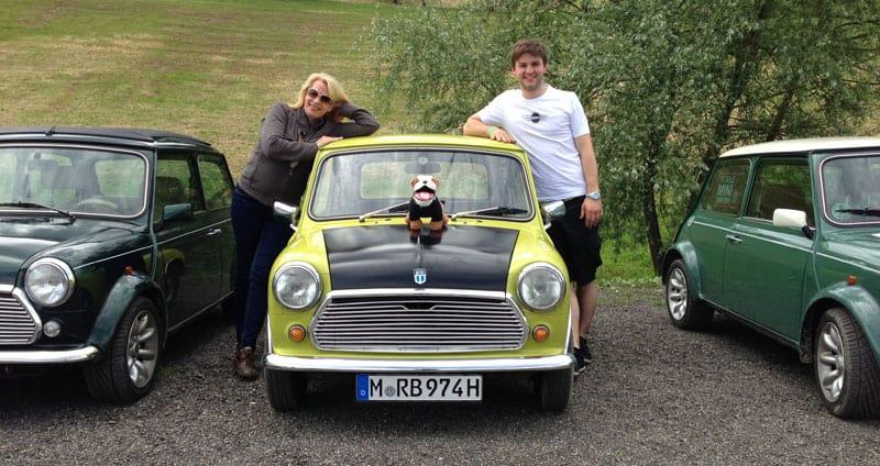 Mr. Bean Mini auf dem International Mini Meeting - Interview 1