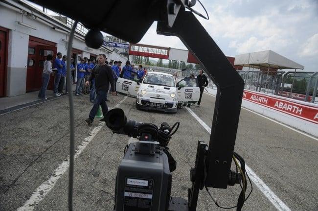 Boxengasse Fiat 500 Abarth