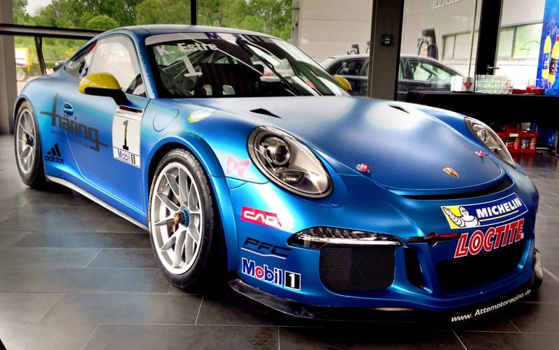 ATTEMPTO Racing - Offizielles Porsche Team, Arkin Aka im Interview 1